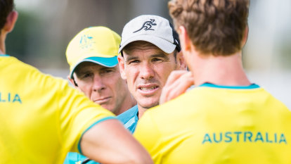 Nathan Grey takes on coach adviser role after exiting Wallabies