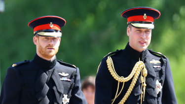 Relations between Harry and William first deteriorated in 2018.