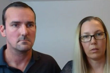 David, Kate have spent roughly $50,000 to come home. They remain stranded overseas