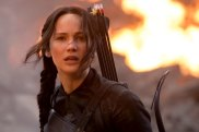 Jennifer Lawrence starring in the final film of the book trilogy, The Hunger Games: Mockingjay - Part 3.