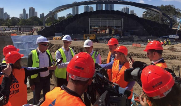Gold Coast receives money to let stage three of the light rail project proceed.
