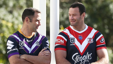 The Storm and Roosters are favoured to meet in another grand final.