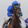 Freerunner: Home Of The Brave wins the Theo Marks Stakes in the spring