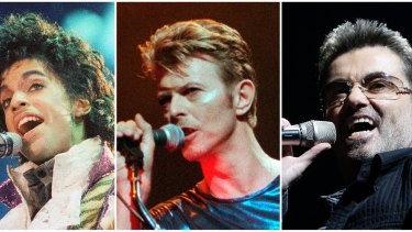 Artists such as Prince, David Bowie and George Michael saw surges in their streaming and sales figures immediately after their deaths.