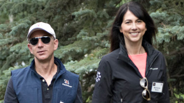 Jeff Bezos and MacKenzie Bezos divorced after 25 years of marriage,