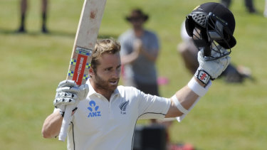 World class: Kane Williamson is clearly a cut above his 1985 predecessor Jeremy Coney.