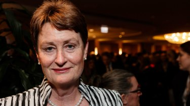 Catherine Livingstone says she was confronted by the APRA report into the bank's culture