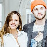 Fashion media Chrisanthi Kaliviotis and Patrick Zaczkidwicz.
