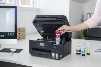Epson's EcoTank printers can print thousands of pages and cost as little as $15 to refill.