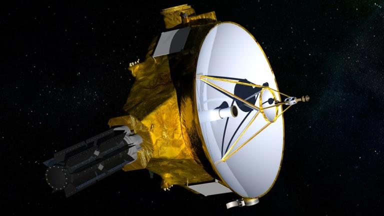 The New Horizons spacecraft on its original Pluto venture.