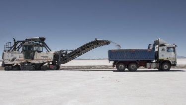 Galaxy is considering a sale of a stake in its flagship lithium growth project in Argentina's Sal de Vida.
