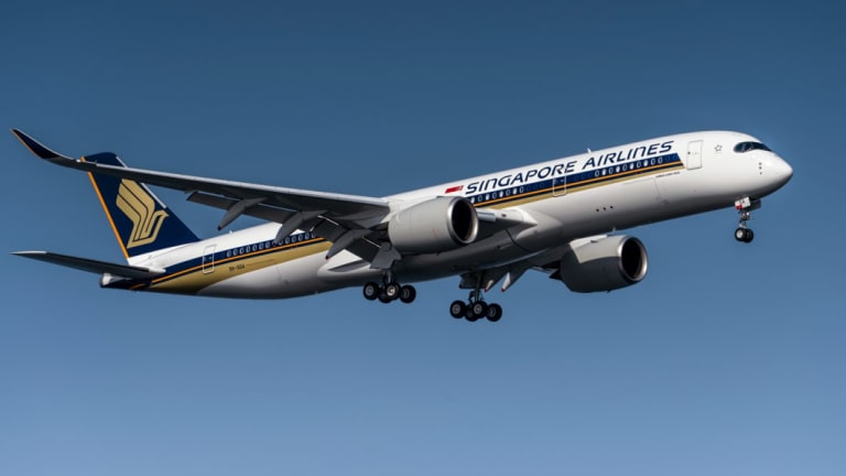 Singapore Airlines is using the A350-900ULR for world's longest flight, from Singapore to New York.
