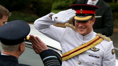 HRH Prince Harry (Captain Wales) had a 4-week attachment to the Australian Defence Force.