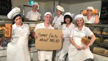 The Checkout team during a recent segment on the bread industry.
