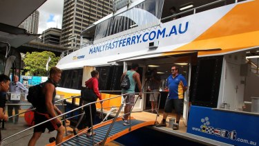 Manly Fast Ferry has warned it will be forced to cancel a large number of regular services from Friday.