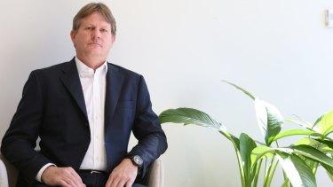 Yancoal CEO Reinhold Schmidt.
