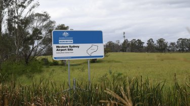 Corridors will be preserved for projects such as a rail link to the new airport at Badgerys Creek.