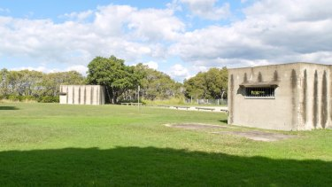 The concrete bunkers at Myrtletown Reserve made up the heritage-listed Royal Australian Navy's Station 9.