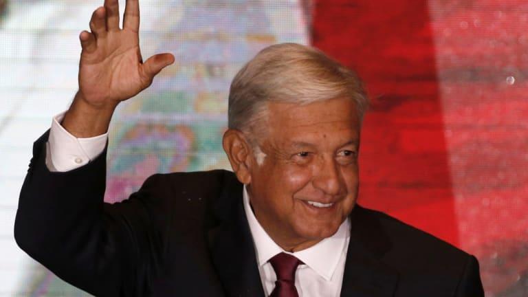 President Andres Manuel Lopez Obrador.