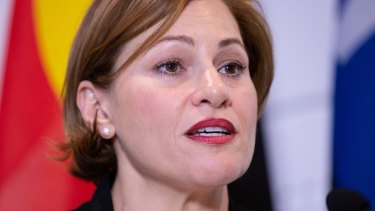 Queensland Treasurer Jackie Trad said the state had been dudded on infrastructure funding.