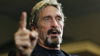 Anti-virus software creator John McAfee arrested at Spanish airport