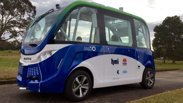 'Like something out of the Jetsons': driverless cars for Sydney