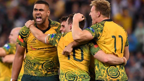 Wallabies want Indigenous jersey at World Cup