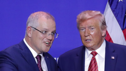 Morrison the Donald-whisperer steals from the playbook of his new BFF