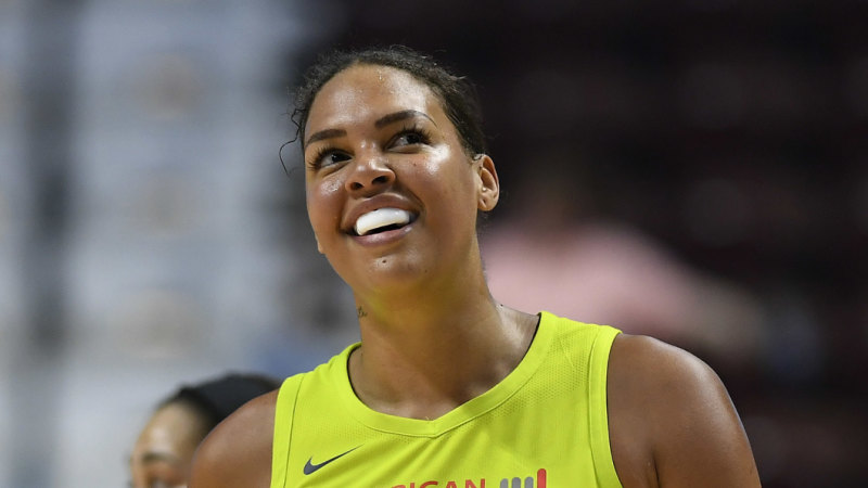 Liz Cambage back running ahead of WNBA but team future remains unclear