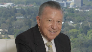 Bill Pollock has been CEO of Drake International for 70 years.