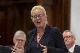 Committee chair councillor Krista Adams.