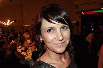 Katie Haley was murdered by her partner.