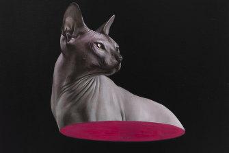 Half Cat, 2020 by Sam Leach. Courtesy of the artist and Sullivan+Strumpf, Sydney.