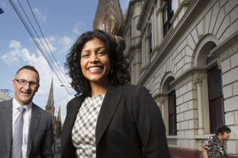 Victorian party leader Samantha Ratnam has ruled herself out of the race to replace Richard Di Natale.