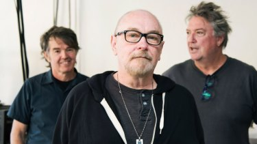 The Aints!: Paul Larsen, Ed Kuepper and Peter Oxley.