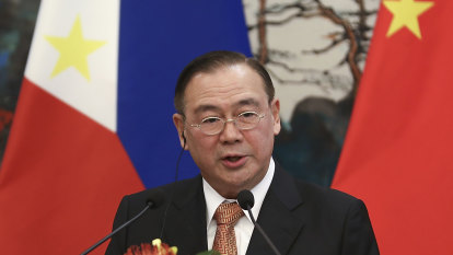Philippines' foreign minister to China: 'get the f--- out'