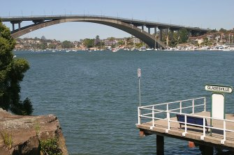 The Gladesville Bridge was the world's longest single-span concrete arch when it was completed in 1964.