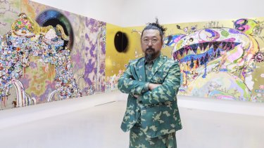 Takashi Murakami is as colourful as his art.
