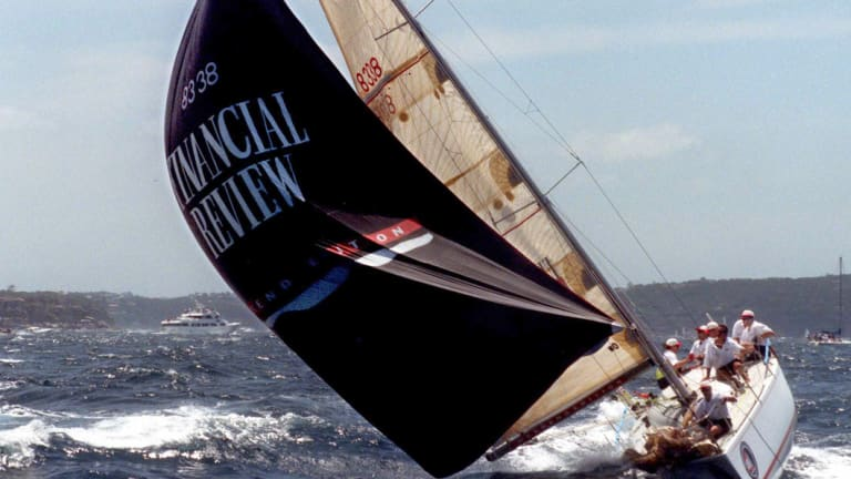 Midnight Rambler triumphed against atrocious conditions to win the 1998 Sydney to Hobart yacht race.