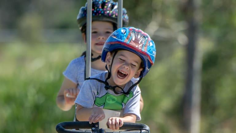 A beautiful little boy, Beau Hodder got his dream bike in time for Christmas.