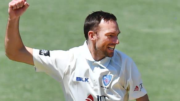 Milestone man Copeland stifles Redbacks' charge with six-wicket haul