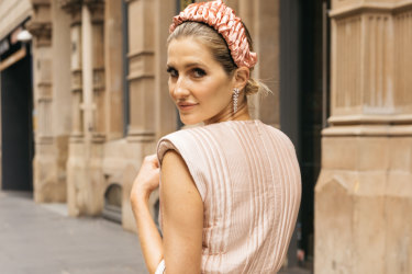 "Kate Waterhouse: ""I'm seeing a lot of colour at the races on the weekends – bright patterns, bold pinks and oranges, all those sunset tones."""