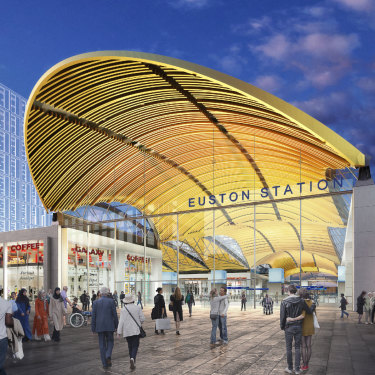 Euston Station is on the slate for Lendlease.