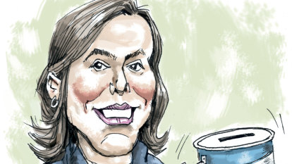 It's been a big month for Kelly O'Dwyer