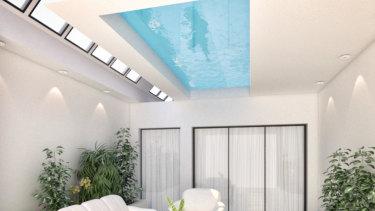Andrew Low's new pool