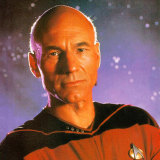 Patrick Stewart in Star Trek, 1998