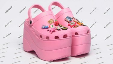 6b4c3ff25483 Balenciaga caused a stir with its upmarket take on Crocs earlier this year.