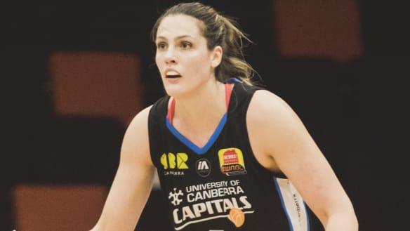 Canberra Capitals Scherf Dandenong Rangers aside