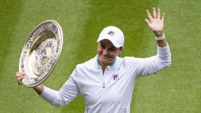 'She just continues to surprise us': Barty's family thrilled with Wimbledon win