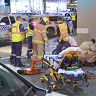 Man charged over truck crash 'unaware' of five injured pedestrians